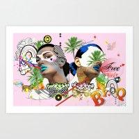 Free Love Art Print