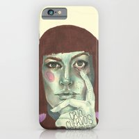 iPhone Cases featuring Rosa by Camila Gomez Gomez