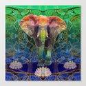 Wandering Elephant Canvas Print