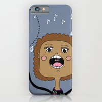 iPhone & iPod Case featuring Le chanteur by Celine Bellini