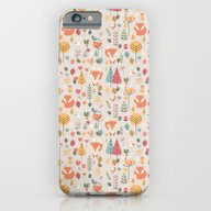 Baby Fox Pattern 05 iPhone 6 Slim Case