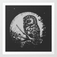 Friend of the Night Art Print