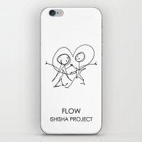 FLOW by ISHISHA PROJECT iPhone & iPod Skin