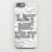 iPhone & iPod Case featuring Trapped by Dianne Delahunty