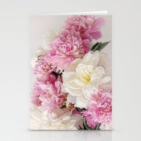 Pionies Stationery Cards