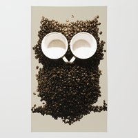 Hoot! Night Owl! Rug