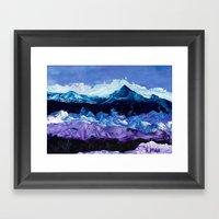 Stormy Framed Art Print