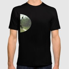 Creative Adventures SMALL Mens Fitted Tee Black