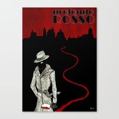 Profondo Rosso Tribute Canvas Print