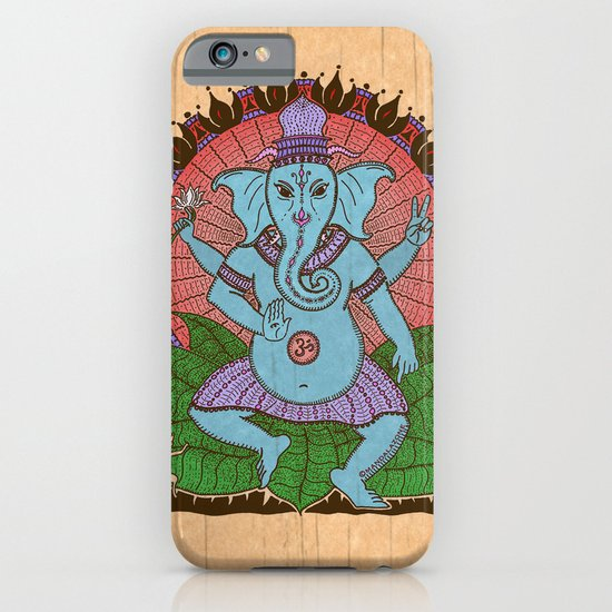 peace ganesh iPhone & iPod Case