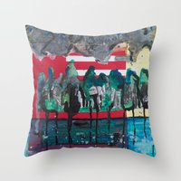 We're All Feeling A Little Lost Throw Pillow