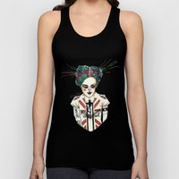 Crooked Unisex Tank Top