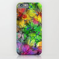 Dream Colored Leaves iPhone 6 Slim Case