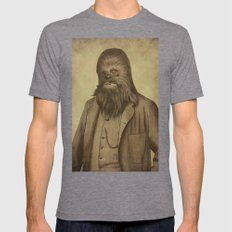 Chancellor Chewman  Mens Fitted Tee Tri-Grey SMALL
