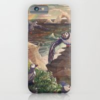 Cliffside Puffins iPhone 6 Slim Case
