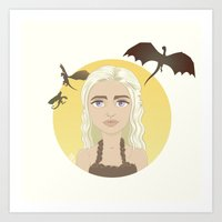 Where are my dragons? Art Print
