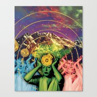 Universal Energy Canvas Print