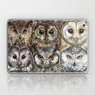 Owl Optics Laptop & iPad Skin