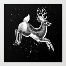 Running Deer Canvas Print