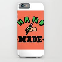 iPhone & iPod Case featuring hand made by benjamin chaubard