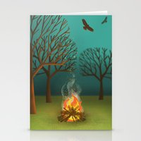 Fireside Stationery Cards