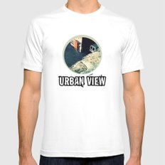 Urban View Mens Fitted Tee SMALL White