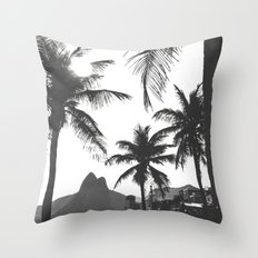 Posto 10 B&W Throw Pillow