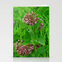 Garden Flowers Stationery Cards