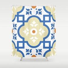 Floor Tile 1 Shower Curtain