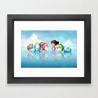 I'm a penguin too ! Framed Art Print