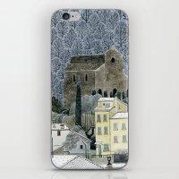 Winter Town iPhone & iPod Skin
