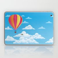 Picnic In A Balloon On A… Laptop & iPad Skin