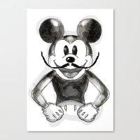 Hey Mickey Canvas Print