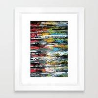 Smoosh Framed Art Print