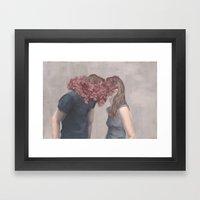Keeping Secrets Framed Art Print