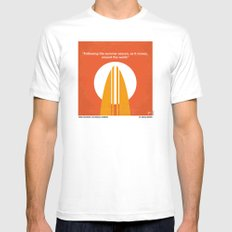 No274 My The Endless Summer minimal movie poster SMALL White Mens Fitted Tee