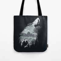 The White Wolf Tote Bag
