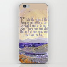 Wings Of The Morning iPhone & iPod Skin