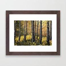 Autumn Euphoria Framed Art Print