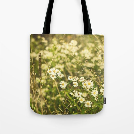 Daisies in Autumn Tote Bag