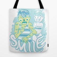 Smile It's contagious :D Tote Bag