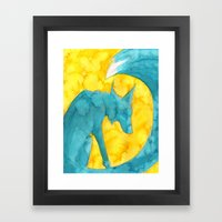 Summer Spirit (Tsunami Fox) Framed Art Print
