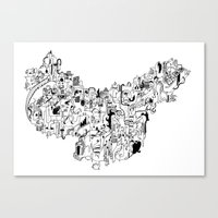 CONFLICTS Canvas Print