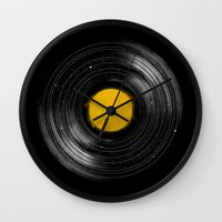 Sound System Wall Clock