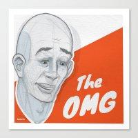 The OMG Canvas Print