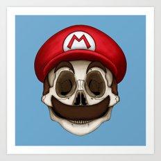 Stack's Skull Sunday No.… Art Print