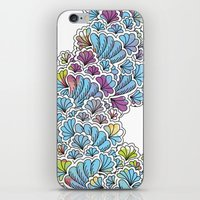 Flower Tower iPhone & iPod Skin