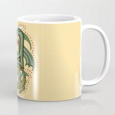 Celtic Dragon Letter Y Mug
