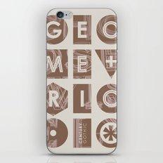 Century Gothic iPhone & iPod Skin