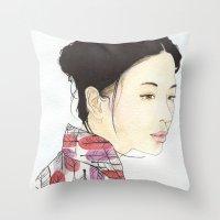 Kind Mother Throw Pillow